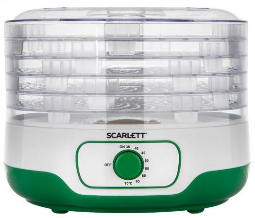 Сушилка для овощей и фруктов Scarlett SC-FD421011 зелёный сушилка scarlett sc fd421001 green