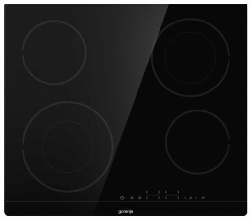 Варочная панель электрическая Gorenje ECT644BSC черный цена и фото