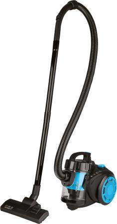 Пылесос Scarlett SC-VC80C12 1500Вт голубой/черный