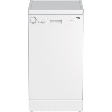 Посудомоечная машина Beko DFS05012W белый (узкая) посудомоечная машина beko dfn 05310 w