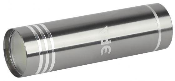 ЭРА Б0029192 Фонарь UB-401 Джет {1х1,5 Вт светодиод, алюминий, черный цвет, 3хААА в комплект не входят} фонарь ручной эра ub 601 чёрный