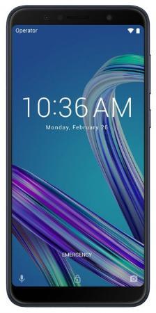 Смартфон ASUS ZenFone Max Pro ZB602KL черный 6 32 Гб NFC LTE Wi-Fi GPS 3G 90AX00T1-M00050 смартфон apple iphone xs max золотистый 6 5 256 гб nfc lte wi fi gps 3g mt552ru a