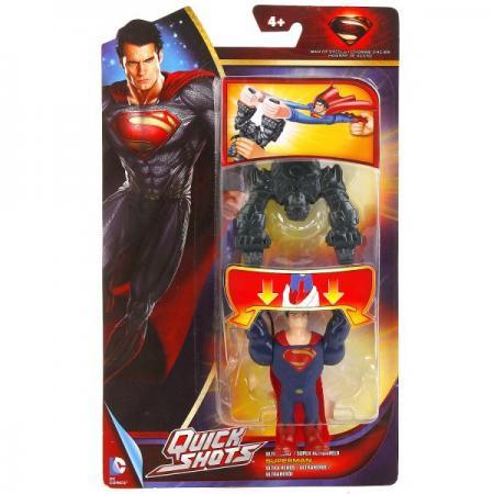 MATTEL. SUPERMAN: MAN OF STEEL УСТРОЙСТВО ДЛЯ ЗАПУСКА ФИГУРКИ НА КАРТ. 17*26*3СМ в кор.20шт mattel устройство для запуска фигурки man of steel