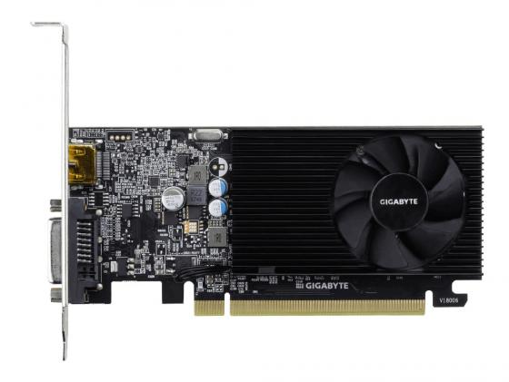 Видеокарта GigaByte GeForce GT 1030 NVidia GeForce GT 1030 PCI-E 2048Mb DDR4 64 Bit Retail GV-N1030D4-2GL цена и фото