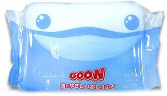 Влажные салфетки для малышей Goon 70 шт. салфетки влажные авангард 48107 15 шт влажная