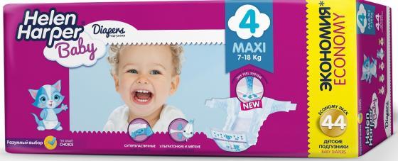 Подгузники Helen Harper Baby размер 4 Maxi (7-18 кг) 44 шт. helen harper подгузники soft