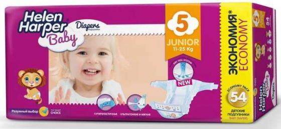Подгузники Helen Harper Baby размер 5 Junior (11-25 кг) 54 шт. подгузники helen harper soft dry junior 15 25 кг 44 шт
