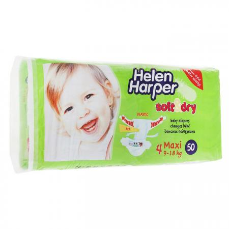 Подгузники Helen Harper Soft Dry maxi (9-18 кг) 50 шт. helen harper подгузники soft