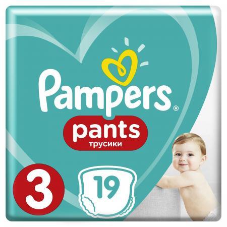 Трусики Pampers Pants 3 (6-11 кг) 19 шт трусики pampers pants 6 15 кг 44 шт