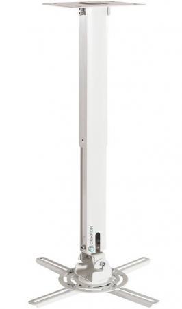 Фото - Кронштейн потолочный для проектора ONKRON/ макс 297х297, вылет от потолка 375-610мм, наклон -12°/+12° поворот: ±100° Макс нагрузка: 15,1кг кронштейн