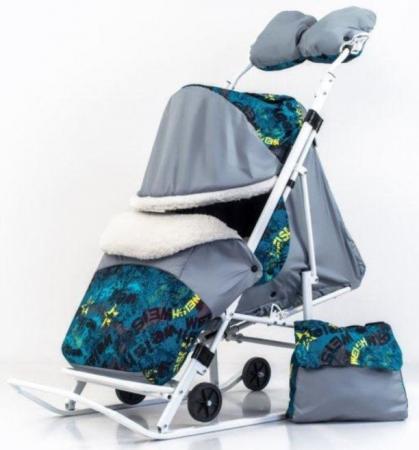 """Санки-коляска """"Метелица-Премиум"""" цена и фото"""