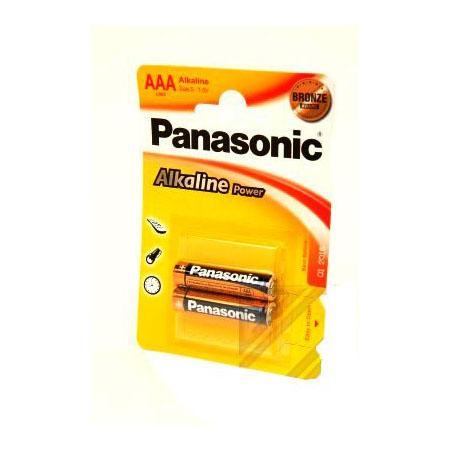 Батарейки Panasonic/ AAA Alkaline Power (блистер 2 шт.) батарейка energizer alkaline power aaa алкалиновая 8 шт