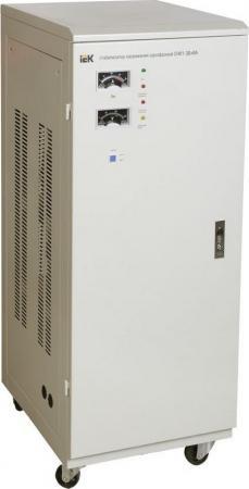 Iek IVS10-1-30000 Стабилизатор напряжения СНИ1-30 кВА однофазный ИЭК стабилизатор напряжения iek снр1 0 2 ква