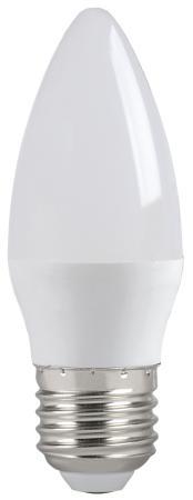 Iek LLE-C35-5-230-30-E27 Лампа светодиодная ECO C35 свеча 5Вт 230В 3000К E27 IEK электродвигатель iek drv132 s4 007 5 1510