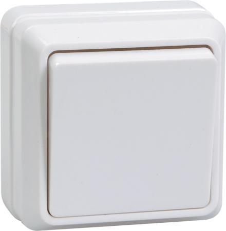 Выключатель IEK EVO10-K01-10-DC 10 A белый
