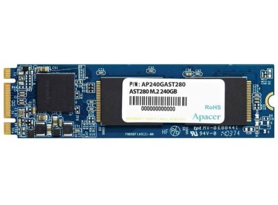Твердотельный накопитель SSD M.2 120 Gb Apacer 2280 AST280 AP120GAST280-1 apacer ast280 240gb ssd накопитель ap240gast280 1