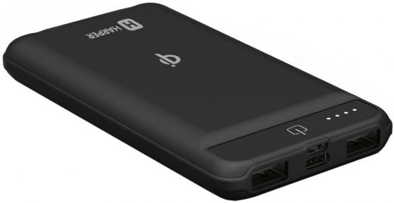 Фото - Внешний аккумулятор Power Bank 8000 мАч Harper WPB-008 черный аккумулятор