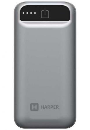 Фото - Внешний аккумулятор HARPER PB-2605 Grey аккумулятор