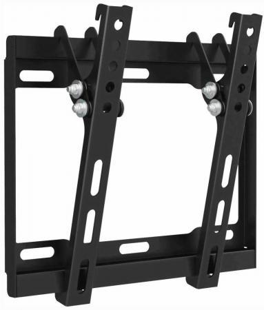 Кронштейн Arm media STEEL-6 черный для LED/LCD ТВ 15-40 настенный 1 ст свободы от стены 25 мм VESA кронштейн kromax flat 5 черный lcd led и плазма тв 15 40 настенный vesa 200x200мм