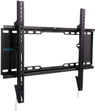 Фото - Кронштейн Kromax IDEAL-101 black, для LED/LCD TV 32-90, max 40 кг, настенный, 0 ст свободы, от стены 30 мм, max VESA 600x400 мм настенный светильник ideal lux piuma pl4 d50 ambra