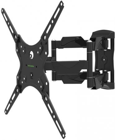 "все цены на Кронштейн Tuarex OLIMP-405 black, настенный для TV 15""-55"", поворот 120, наклон +3-10, от стены 50-386мм, макс 30кг, VESA 400x400 онлайн"