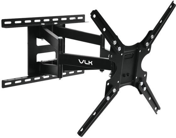 "Кронштейн VLK TRENTO-8 черный 26""-65"" наклонно-поворотный от стены 55-480мм VESA 400х400мм до 30кг цены онлайн"