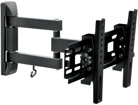 Кронштейн VLK TRENTO-13 black, для LED/LCD TV 20-43, max 30 кг, настенный, 4 ст свободы, max VESA 200x200 мм free shipping 40pcs lot lcd tv plasma tube rjp63k2 new original