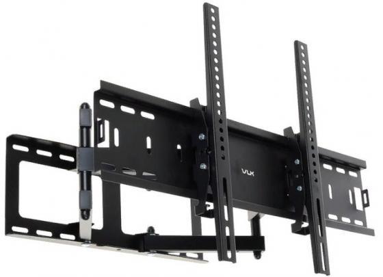 Кронштейн VLK TRENTO-9 черный 32-90 наклонно-поворотный от стены 90-500мм VESA 600х400мм до 50кг кронштейн для проекторов vlk trento 81 черный потолочный наклонно поворотный до 15 кг