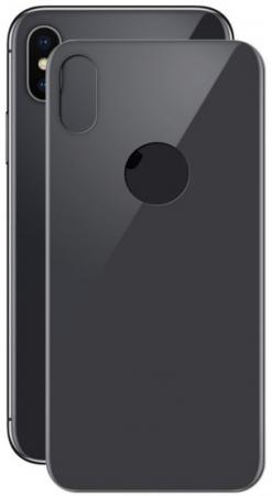 Защитное стекло 3D LuxCase 77710 для iPhone X 0.33 мм (черное)
