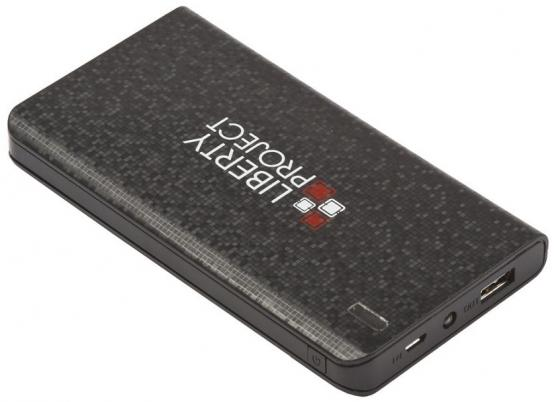 Фото - Внешний аккумулятор Power Bank 8000 мАч LP 0L-00029997 черный аккумулятор