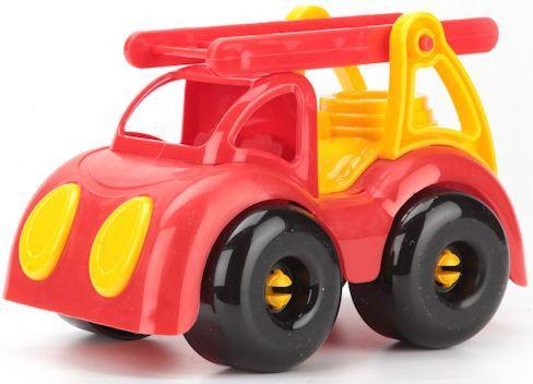 Пожарная машина Пластмастер МАЛЫШОК красный 31832 пластмастер машина сортер силач цвет желтый красный