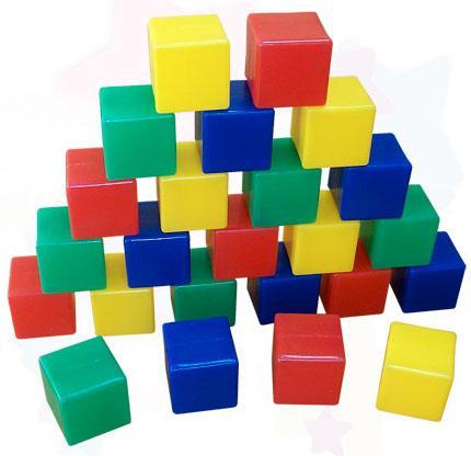 Кубики Пластмасса-Детство (СВСД) Junior 24 шт 5178 цена
