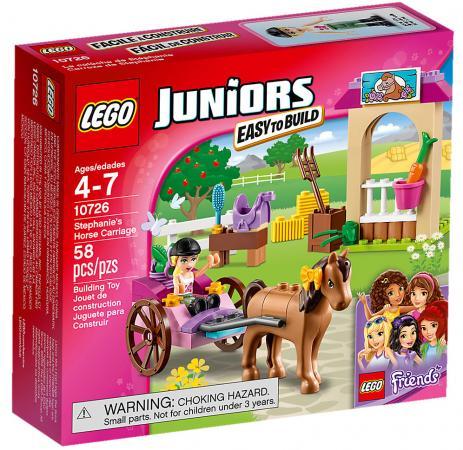Конструктор LEGO Juniors: Карета Стефани 58 элементов 10726-L цена