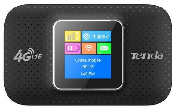 Маршрутизатор Tenda 4G185 4G FDD LTE 150Мбит/с портативный роутер, оснащен 2100mAh перезаряжаемой батареей, поддерживает до 10 устройств, до 6 часов работы цена и фото