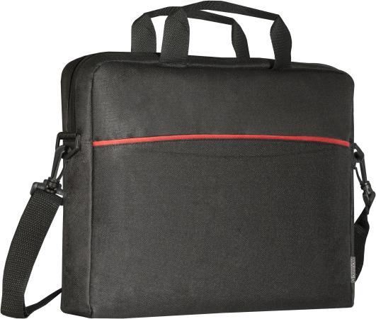 """Сумка для ноутбука 15.6"""" Defender Lite полиэстер черный 26083 цена и фото"""