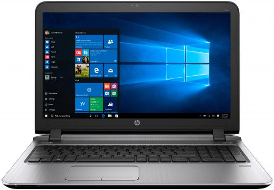 Ноутбук HP ProBook 450 G3 Core i3 6100U/8Gb/SSD256Gb/Intel HD Graphics 520/15.6/SVA/HD (1366x768)/Windows 10 Professional 64/black/WiFi/BT/Cam ноутбук hp probook 430 g3 core i3 6100u 4gb ssd128gb intel hd graphics 520 13 3 sva hd 1366x768 windows 7 professional dwnw10pro black wifi bt cam 2500mah
