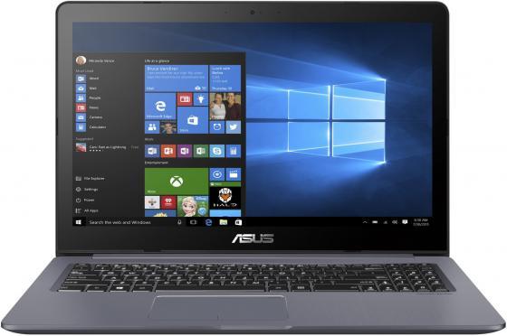 Ноутбук ASUS VivoBook Pro 15 N580GD-E4200 15.6 1920x1080 Intel Core i7-8750H 1 Tb 8Gb nVidia GeForce GTX 1050 4096 Мб серый DOS 90NB0HX4-M02930 ноутбук asus vivobook pro 17 n705un gc109 17 3 1920x1080 intel core i5 8250u 1 tb 8gb nvidia geforce mx150 2048 мб серый без ос 90nb0gv1 m02270