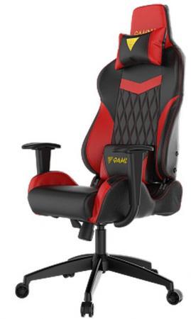 Кресло геймерское GAMDIAS HERCULES E2 L black-red hercules series black ladder back metal restaurant chair with black vinyl seat