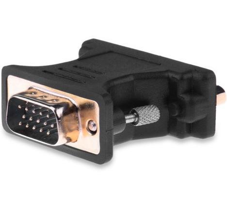 Адаптер-переходник Vention DVI-I 24+5F/ VGA 15M адаптер переходник vention dvi i 24 5 m vga 15f