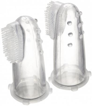 Зубная щетка первая силиконовая с массажными выступами, в контейнере Canpol арт. 56/159 canpol babies силиконовая зубная щетка от 6 мес canpol babies в ассорт