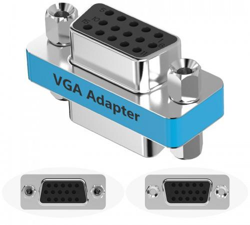 Адаптер переходник Vention VGA 15 F/ VGA 15 F DDCI0 адаптер переходник vention mini displayport 20 m vga 15 f hbdwb