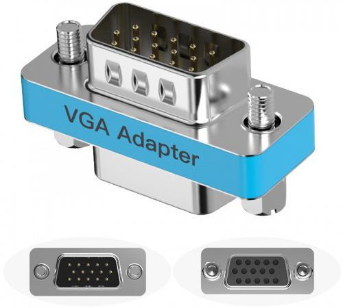 Адаптер переходник Vention VGA 15 F/ VGA 15 F DDAI0 адаптер переходник vention mini displayport 20 m vga 15 f hbdwb