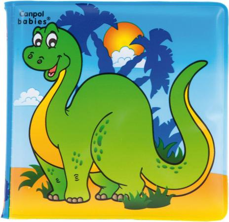 Книжка с пищалкой Canpol 6+ мес., арт. 2/083, рисунок: динозаврик цена