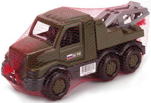 Эвакуатор Полесье ГОША зеленый 48530 автомобиль эвакуатор полесье леон 52872 оранжевая кабина