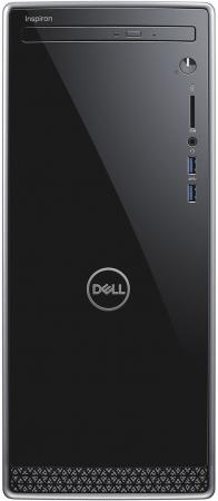 Купить ПК Dell Inspiron 3670 MT i7 8700 (3.2)/8Gb/1Tb 7.2k/SSD128Gb/GTX1050Ti 4Gb/DVDRW/Linux/GbitEth/WiFi/460W/клавиатура/мышь/серебристый/черный, Системный блок, Черный, Серебристый