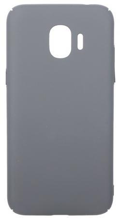 Чехол soft-touch для Samsung Galaxy J2 (2018)/J2 Pro (2018) DF sSlim-34 (charcoal grey) zhiyusun new 10 4 inch touch screen 4 wire resistive usb touch panel overlay kit free shipping 225 173