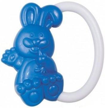 Погремушка Canpol Кролик, 0+ мес., арт. 2/188 цвет синий