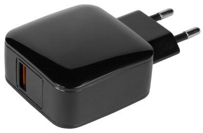 Сетевое зарядное устройство Jet.A UC-C22 3 А USB-C черный цена и фото