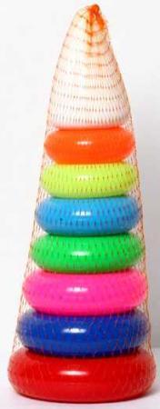 """ИГРА """"ПИРАМИДА """"ГИГАНТ"""" (45СМ) в кор.20шт игрушка пирамида плэйдорадо гигант"""