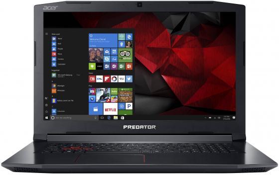 Ноутбук Acer Predator Helios 300 PH317-52-56NV 17.3 1920x1080 Intel Core i5-8300H 1 Tb 8Gb Bluetooth 5.0 nVidia GeForce GTX 1050Ti 4096 Мб черный Linux NH.Q3EER.005 ноутбук acer predator triton 700 pt715 51 78su 15 6 1920x1080 intel core i7 7700hq nh q2ker 003